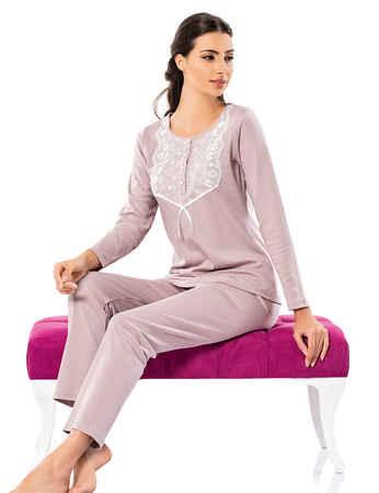 Şahinler Kadın Pijama Takımı MBP25003-2 - Thumbnail
