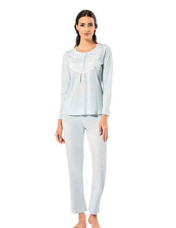 Şahinler Kadın Pijama Takımı MBP25003-3 - Thumbnail