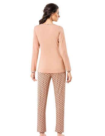 Şahinler Kadın Pijama Takımı MBP25005-1 - Thumbnail