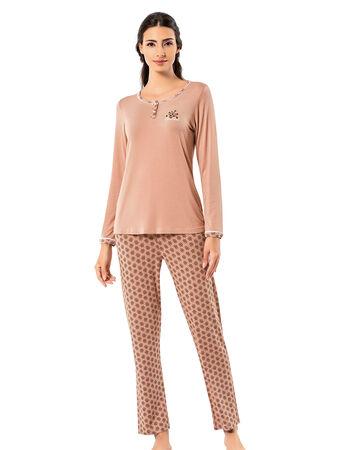 Şahinler - Şahinler Kadın Pijama Takımı MBP25005-1