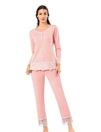 Şahinler Kadın Pijama Takımı MBP25007-1 - Thumbnail