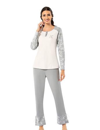 Şahinler - Şahinler Kadın Pijama Takımı MBP25008-1
