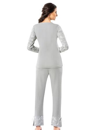 Şahinler - Şahinler Kadın Pijama Takımı MBP25008-1 (1)