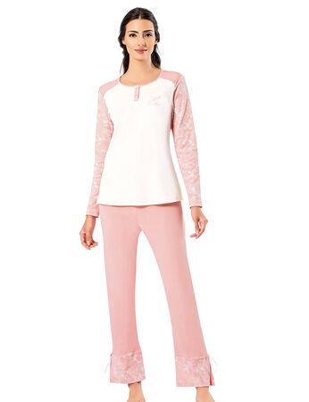 Şahinler - Şahinler Kadın Pijama Takımı MBP25008-2