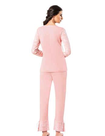 Şahinler Kadın Pijama Takımı MBP25008-2 - Thumbnail