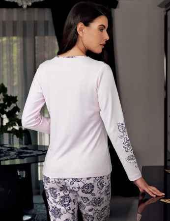 Şahinler - Şahinler Kadın Pijama Takımı Pembe MBP23709-1 (1)