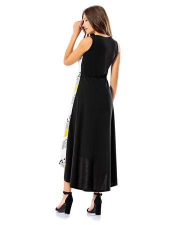 Şahinler - Şahinler Kadın Uzun Elbise Sarı MBP24039-1 (1)