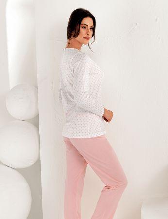 Şahinler - Şahinler Kadın Uzun Kol Pijama Takımı MBP25102-1 (1)