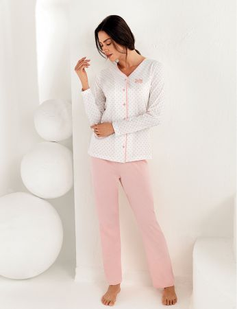 Şahinler Kadın Uzun Kol Pijama Takımı MBP25102-1