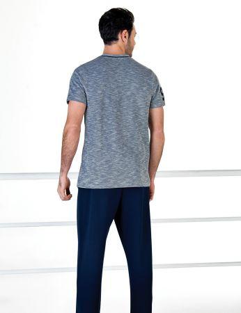 Şahinler - Şahinler Kısa Kollu Erkek Pijama Takım MEP24708-1 (1)