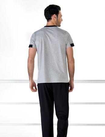 Şahinler - Şahinler Kısa Kollu Erkek Pijama Takım MEP24709-1 (1)