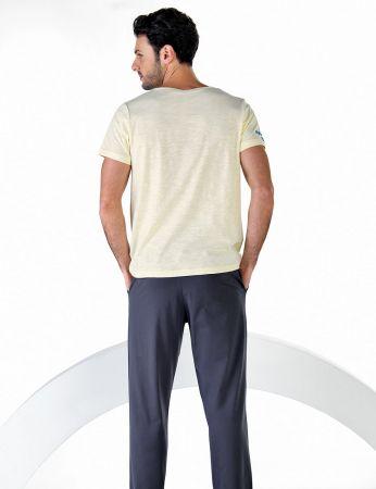 Şahinler - Şahinler Kısa Kollu Erkek Pijama Takım MEP24710-1 (1)