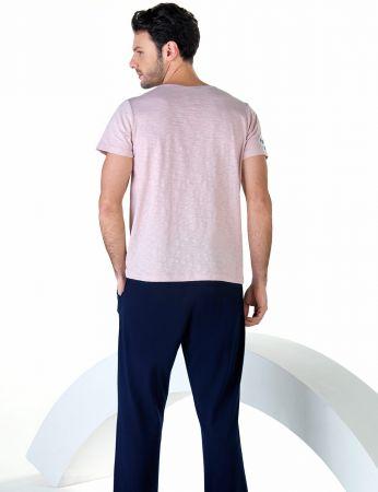 Şahinler - Şahinler Kısa Kollu Erkek Pijama Takım MEP24710-2 (1)