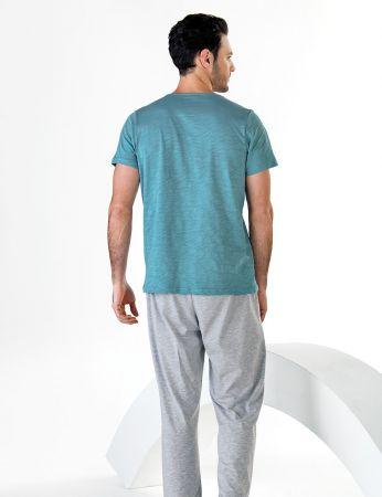 Şahinler - Şahinler Kısa Kollu Erkek Pijama Takım MEP24711-1 (1)