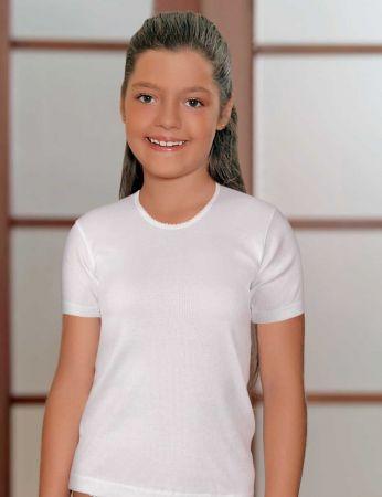 Şahinler - Şahinler Kız Çocuk Atlet Beyaz MKC010