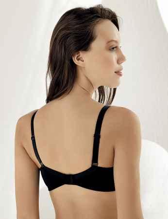 Şahinler - Sahinler Lace Minimiser Bra Black M8050 (1)