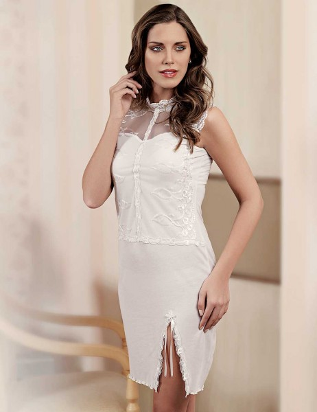 Şahinler - Sahinler Lace Nightgown Set MBP22818-1 (1)