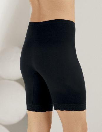 Şahinler - Sahinler Lace Rib Leggings Black MB005 (1)