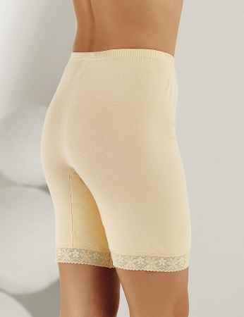 Şahinler - Sahinler Lace Rib Leggings Cream MB005 (1)