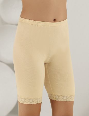 Sahinler Lace Rib Leggings Cream MB005