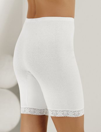 Şahinler - Sahinler Lace Rib Leggings White MB005 (1)