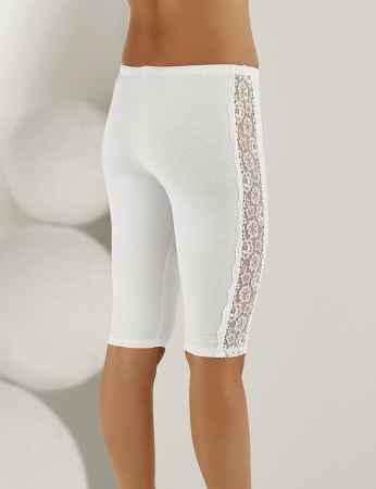 Şahinler - Sahinler Lace Side Leggings White MB890 (1)