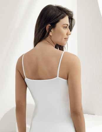Şahinler - Sahinler Lace Singlet Top Strap Body White MB1014 (1)