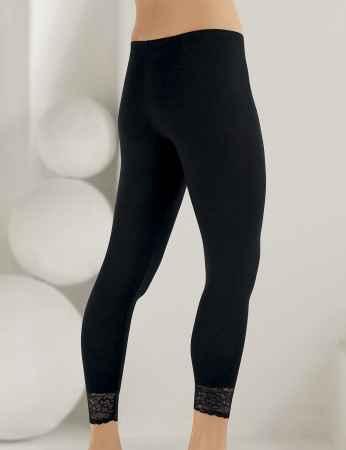 Sahinler Leggings Lace Cuff Long MB888 - Thumbnail
