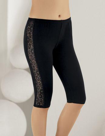 Sahinler Leggings Lace Side Black MB890