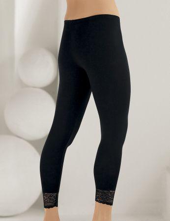 Şahinler - Sahinler Leggins lang Beinausschnitt mit Spitze schwarz MB888 (1)
