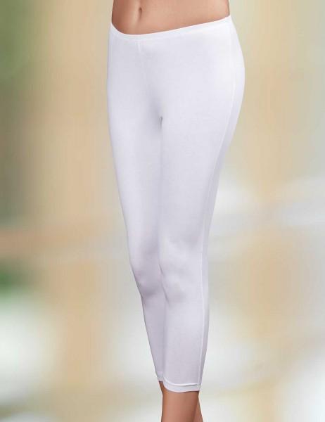 Sahinler Leggins mit seitlicher Naht weiß MB3025