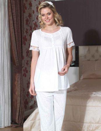Şahinler - Şahinler Lohusa Pijama Takımı MBP21742-2