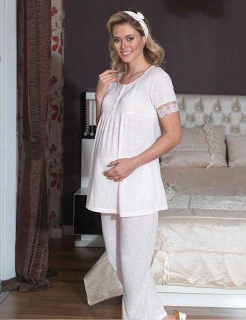 Şahinler - Şahinler Lohusa Pijama Takımı MBP21742-2 (1)