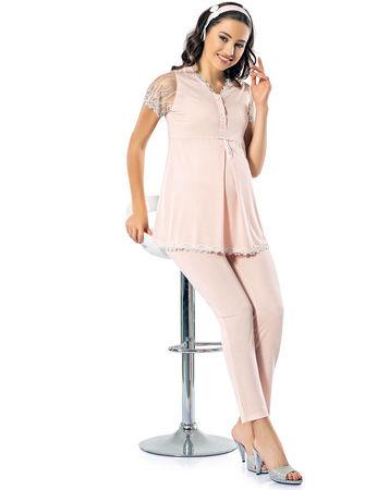 Şahinler - Sahinler Maternity Pajama Set MBP24823-1