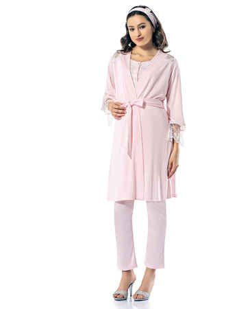 Şahinler Lohusa Pijama Takımı MBP24824-1 - Thumbnail