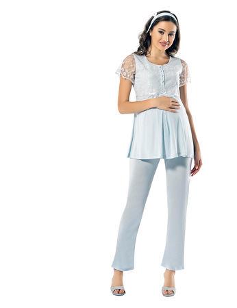 Şahinler - Sahinler Maternity Pajama Set MBP24824-2