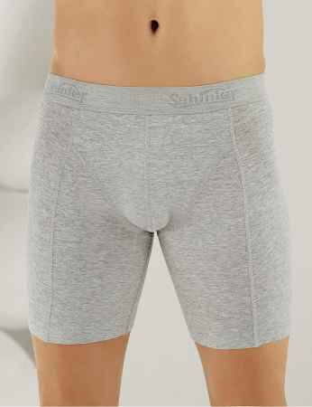 Şahinler Lycra Long Men Boxer Grey ME114 - Thumbnail