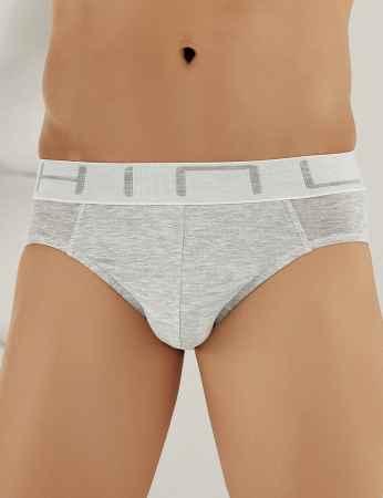 Şahinler Lycra Modal Men Brief Grey ME121 - Thumbnail