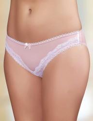 Şahinler - Sahinler Lycra Polyester Slip mit Spitze rosa MB3019