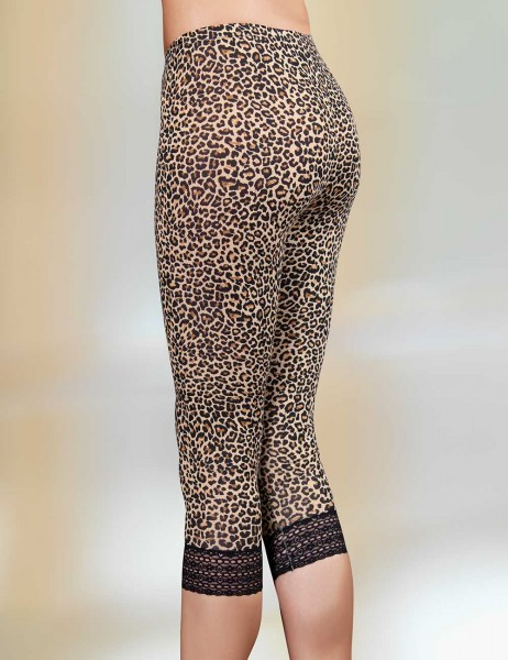 Şahinler - Sahinler Lycra Supreme Leggings Leopard Patterned MB291 (1)