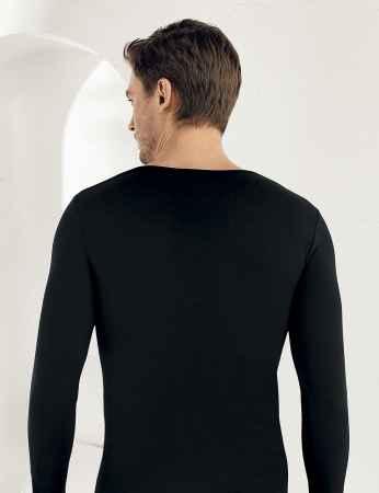 Şahinler - Sahinler Lycra Supreme Singlet Long Sleeve Black ME071 (1)