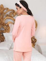 Женщина Пижама MBP23112-1 - Thumbnail