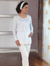 Şahinler пижамы для послеродового MBP23117-1 - Thumbnail