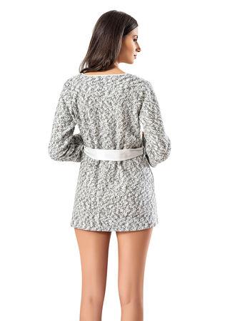 Şahinler - Şahinler Maternity Morning Gown White MBP23731-1 (1)