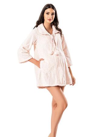 Şahinler - Şahinler Maternity Morning Gown MBP23729-1