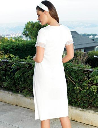 Şahinler - Şahinler Maternity Nightgown MBP24123-2 (1)