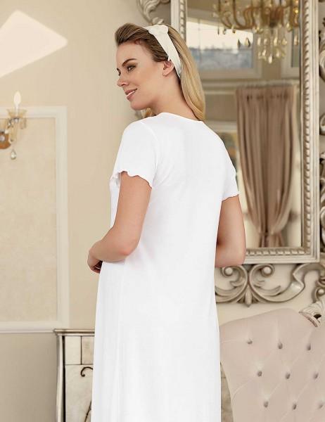 Şahinler - Şahinler Maternity Nightgown with Slipper Gift MBP23413-1 (1)