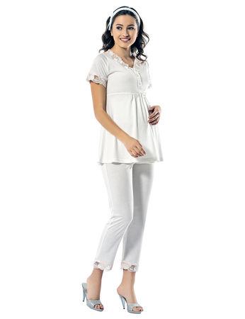 Şahinler - Şahinler Maternity Pajama Set MBP24120-1