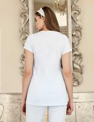 Şahinler - Şahinler Maternity Sleepwear Set with Slipper Gift Blue MBP23411-3 (1)