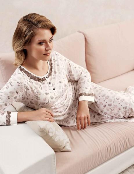 Şahinler - Sahinler Melisa Lace Nightgown MBP22428-1